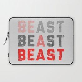 Be a Beast Laptop Sleeve