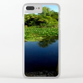Framing a Pond Clear iPhone Case