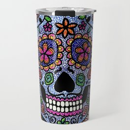 Crazy Skull  Travel Mug