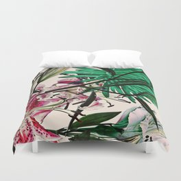 WHITE FLOWERS 9197 Duvet Cover