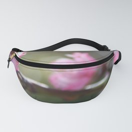 A Bough Of Blurred Peach Blossom Fanny Pack