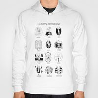 astrology Hoodies featuring Natural Astrology by Coily and Cute
