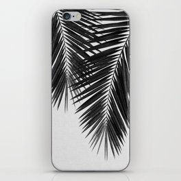 Palm Leaf Black & White II iPhone Skin