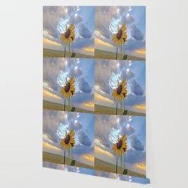 Roadside Sunflower Wallpaper
