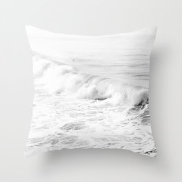 Pacific Ocean from Manhattan Beach Throw Pillow
