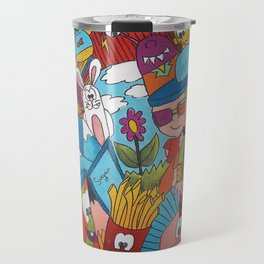 Jumble Mumble Travel Mug