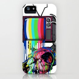 COLORS TV iPhone Case