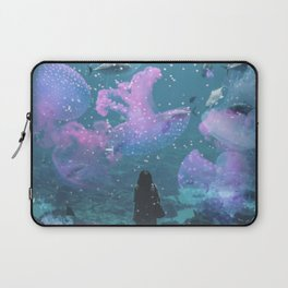 Cosmic Life in Aquarium Laptop Sleeve