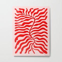 Funky Herbs: Matisse Edition Metal Print