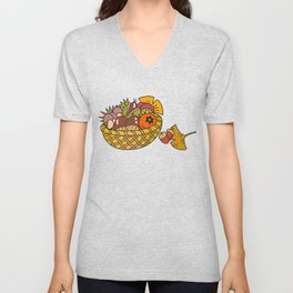 Taste of autumn Unisex V-Neck