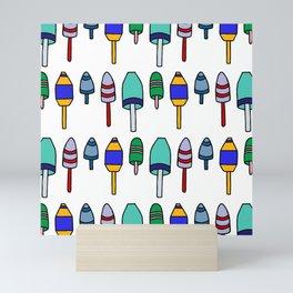 Buoys Mini Art Print