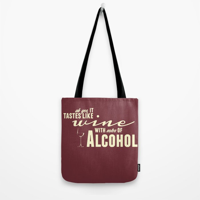 NOTES OF ALCOHOL Tote Bag