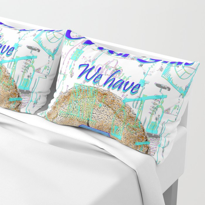 Come to the Nerd Side We have Pi Pillow Sham