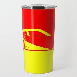 Fast Car Abstract Travel Mug