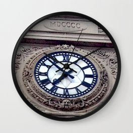 Montreal Architecture Clock Wall Clock