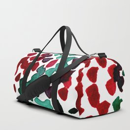 trickle no3...two hearts on grass Duffle Bag