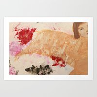 oil Art Prints featuring oil by Gayana Manukova