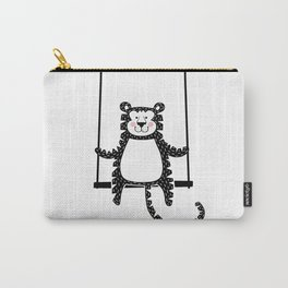 Tiger on the swing Carry-All Pouch