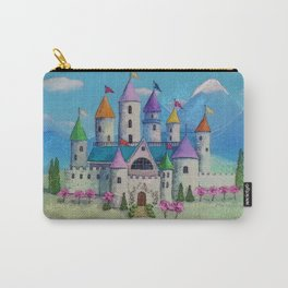 Colorful Princess Castle Carry-All Pouch