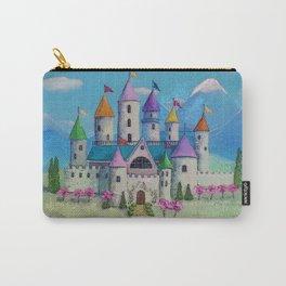 Colorful Princess Castle Carry-All Pouch