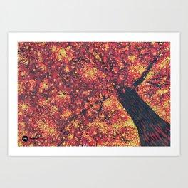 Fall Majesty Art Print