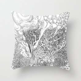Rotting in Essence #1 Throw Pillow