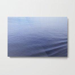 Still Sea Water Minimalist Poster Metal Print