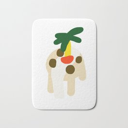 Jungle Seat at the Table Abstract illustration Bath Mat