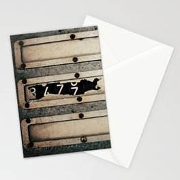 Industrial Numbers Stationery Cards