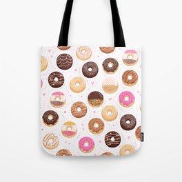 Donut love Tote Bag