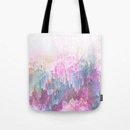 Magical Nature - Glitch Pink & Blue Tote Bag