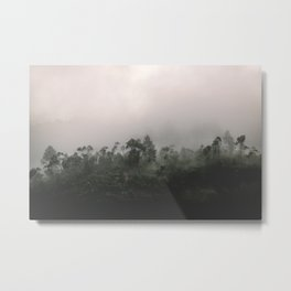 Sri Lankan Fog Metal Print