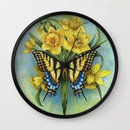 Pappilon Wall Clock