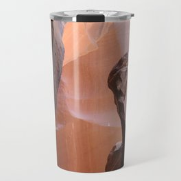 Natures Marvelous Composition - Antelope Canyon Shapes Travel Mug