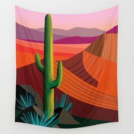 Phoenix Arizona Travel Poster Wall Tapestry