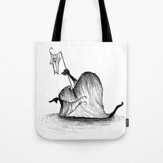 Swamp Monster Tote Bag