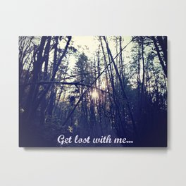 Lost in Oregon  Metal Print