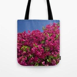 Red bougainvillea Tote Bag