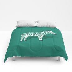 Animal Kingdom: Zebra III Comforters