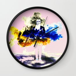 Boom Color Wall Clock