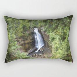 Miners Falls, Munising, Michigan. Rectangular Pillow