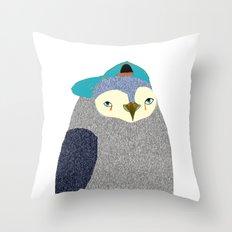 Penguin Dude, penguin art, penguin illustration, penguin, penguin print, Throw Pillow