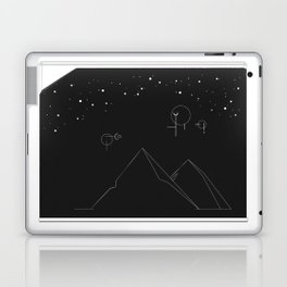 Dark Mountains Laptop & iPad Skin