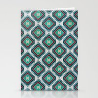 kilim Stationery Cards featuring Pistachio Persian Kilim by Katayoon Photography