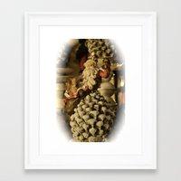 santa Framed Art Prints featuring Santa by Cindy Munroe Photography