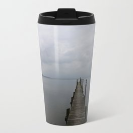 Lake Chiemsee In A Mist Travel Mug
