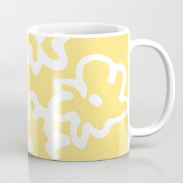 Flowers Yellow and White Coffee Mug
