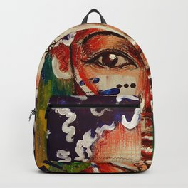 Indigenous Girl Backpack