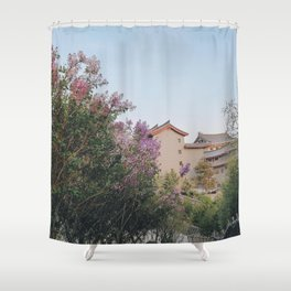 flower photography by KAL VISUALS Shower Curtain