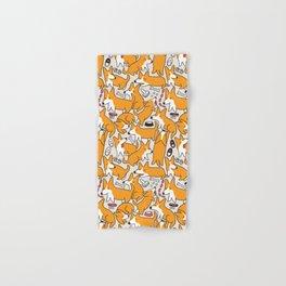 Funny corgis Hand & Bath Towel